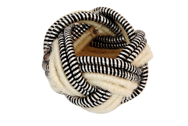 Worldexplorer Classic Braided Jute Burlap Napkin Rings Natural Braided Napkin Rings Pack of 8