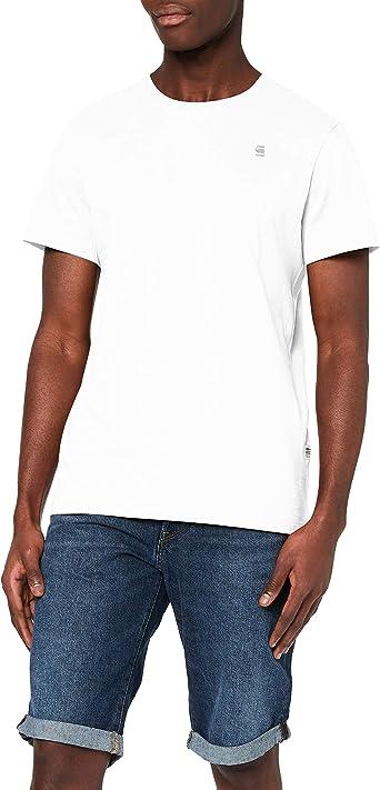 TALLA M. G-STAR RAW Base-s R T S/s Camiseta para Hombre