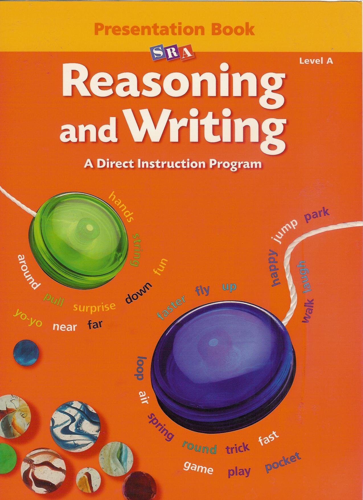 Sra Reasoning And Writing Level A Presentation Book Siegrried