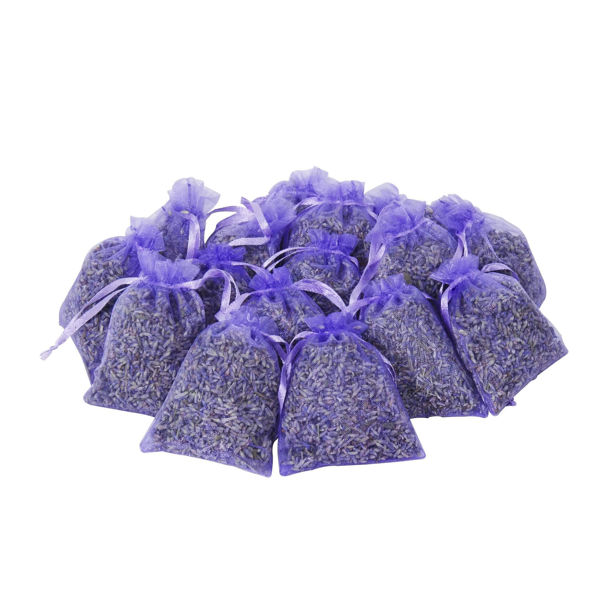 Aroma Bag Natural Lavender Bud Dried Flower Sachet Bag Aromatherapy Aromatic Wardrobe Desiccant Sachet Car Room Air Refreshing Home