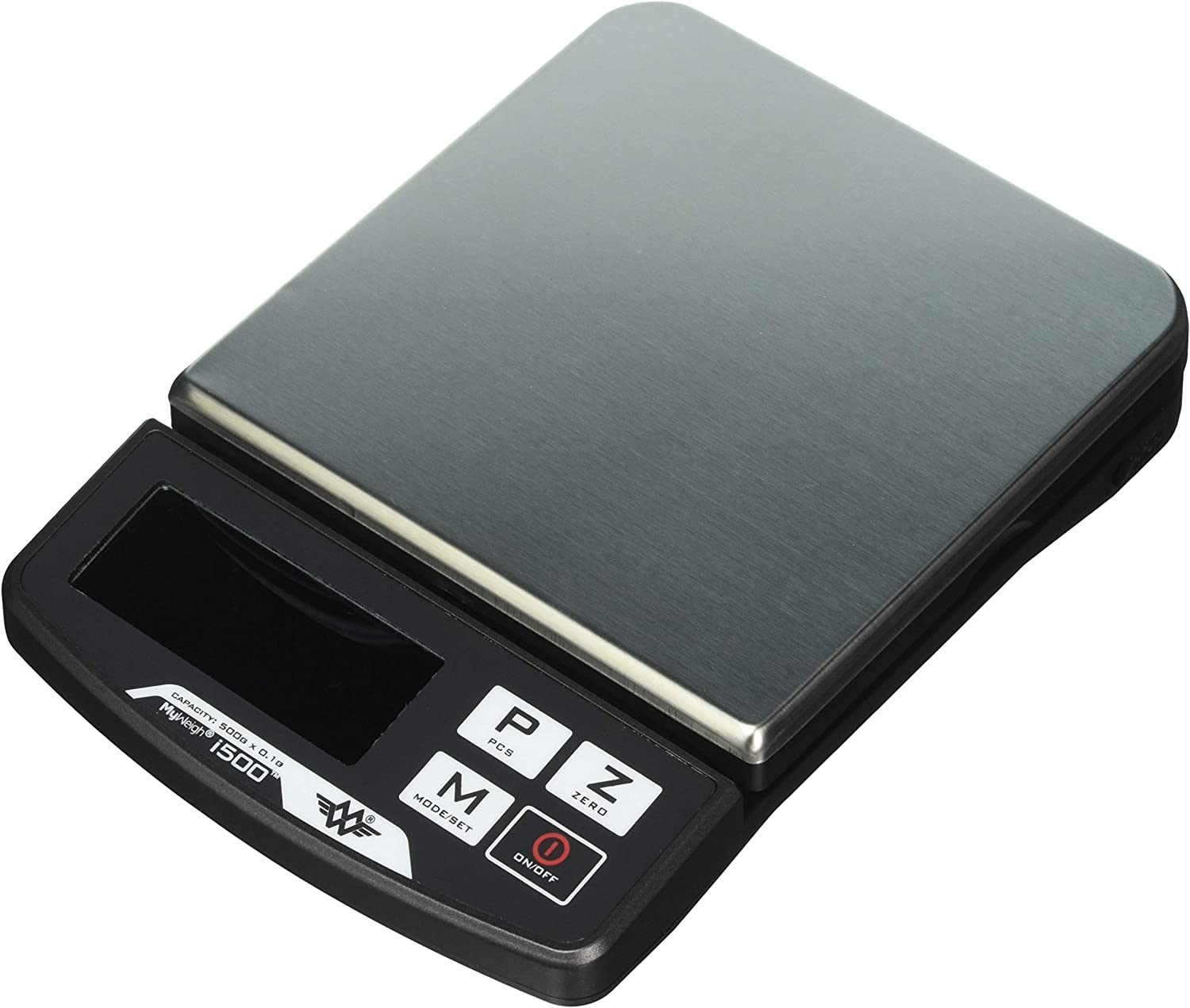 My Weigh iBalance i500 Digital Kitchen Scale Bowl 500g x 0.1g Parts Counting AC Adapter SCM500