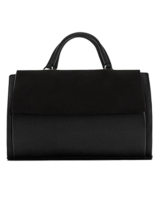 07b04497cd4 Zara Women Combined leather city bag 1020/304: Amazon.ca: Clothing &  Accessories