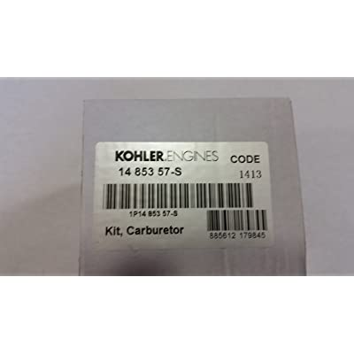 KOHLER 14 853 57-S COMPLETE CARBURETOR WITH GASKETS: Industrial & Scientific