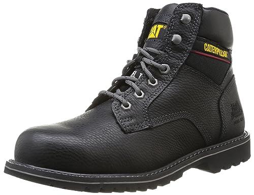 CaterpillarElectric 6 Sb - botas de seguridad hombre, negro (negro), 41
