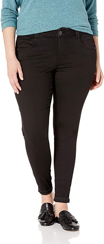 Democracy Womens Plus Size Ab Solution Jegging