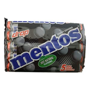 Mentos Sweets | Mentos Mints | Mentos Liquorice | Mentos Licorice | 6.61 Ounce Total Weight