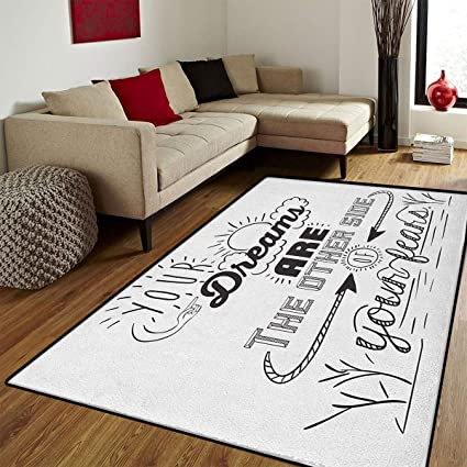 Amazon Com Quotes Floor Mat For Kids Your Dreams Is The Other