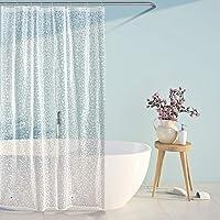 SPARIN [120 x 180 cm duschdraperi, anti-mögel, PEVA vattentätt duschdraperi med 12 duschdraperiringar, [anti-mögel…