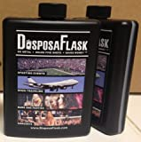 Plastic Alcohol Flask - DisposaFlask - 4 Pack - $7.50