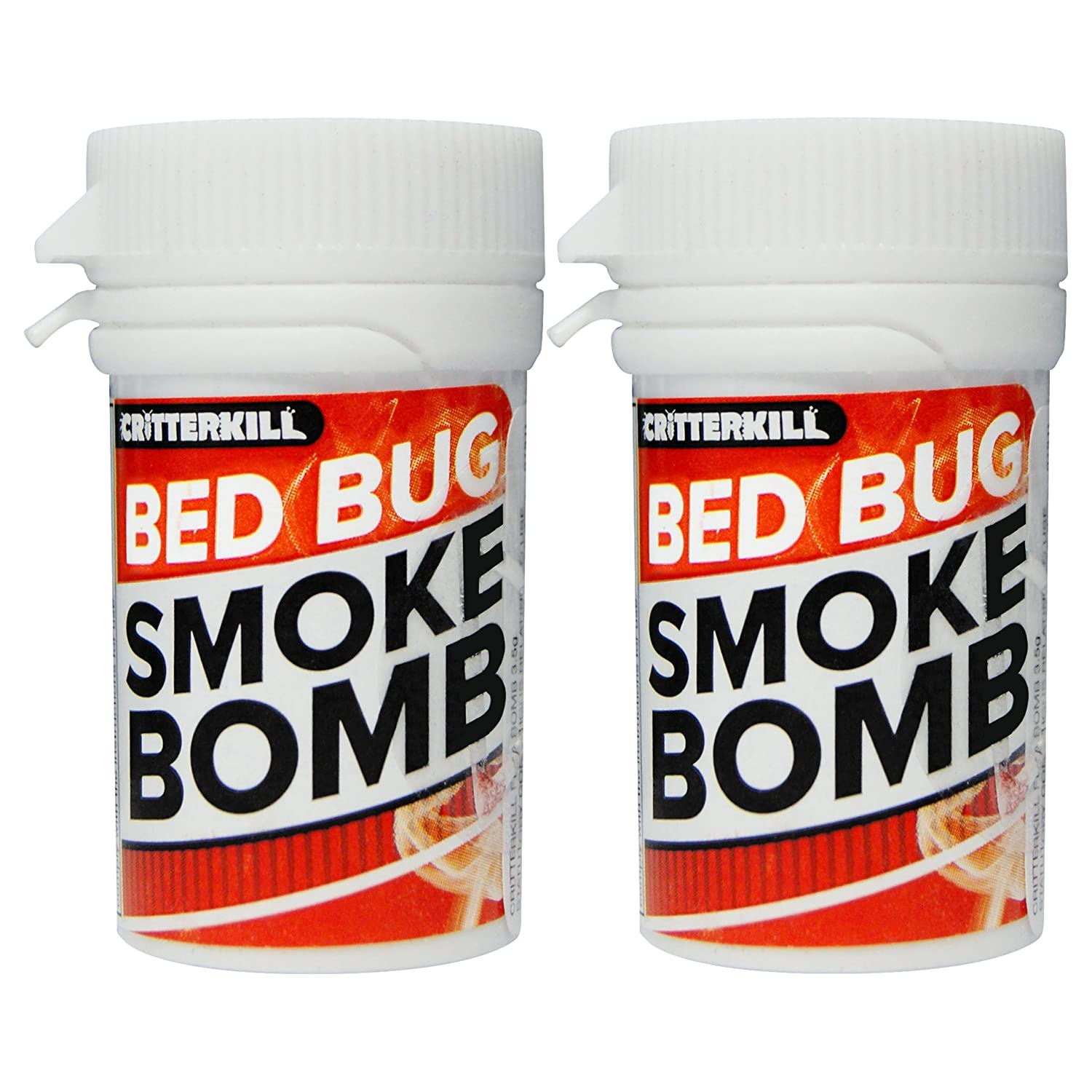 CritterKill Bed Bug Smoke Bomb Fogger Fumigator to Kill Bedbugs | Professional Strength (10)