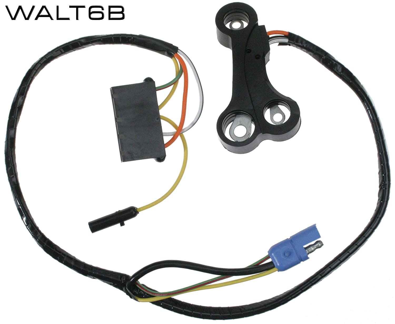 amazon com mustang alternator wiring harness w tach 1970  backup wire harness retainer dead nuts on