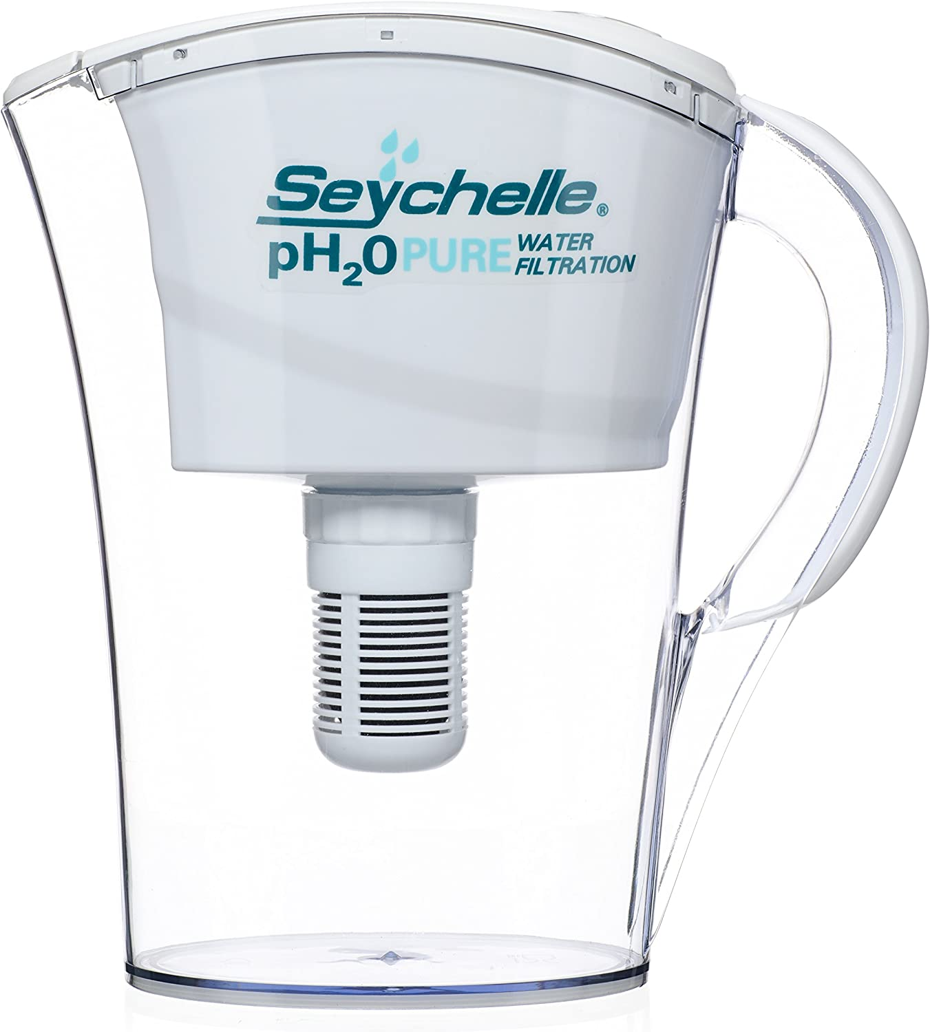 Seychell 100 Gallon Capacity Water Filter Pitcher