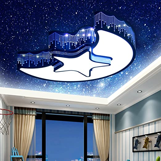 Childrens Ceiling Lamp Led Children Lamp Romantica Ceiling Light Star Moon Bedroom Light Kindergarten Modern Ceiling Lamps Ceiling Lights & Fans Lights & Lighting