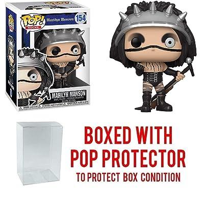 Marilyn Manson #154 Pop Rocks Vinyl Figure (Includes Compatible Ecotek Plastic Pop Box Protector Case): Toys & Games