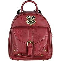 Harry Potter Hogwarts School Crest Faux Leather Mini Backpack