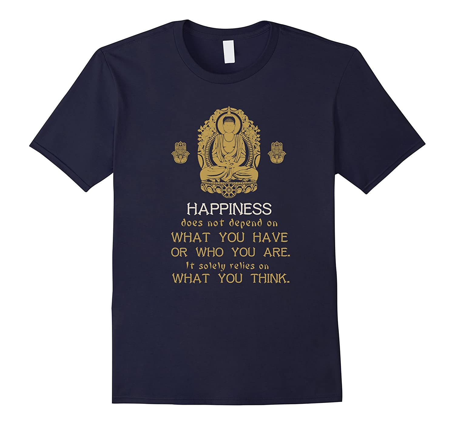 Buddhism T-shirt - Buddha shirt with quote for Buddhist-T-Shirt