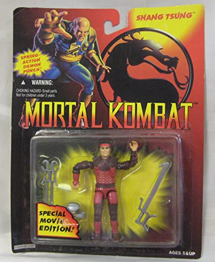 Mortal Kombat Special Movie Edition Shang Tsung Version 3 AKA Ninja Commando Budo