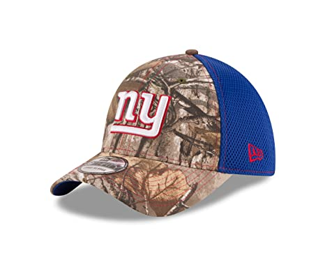 acc0f5553 New York Giants Real Tree Neo 39THIRTY Flex Fit Hat   Cap Small Medium