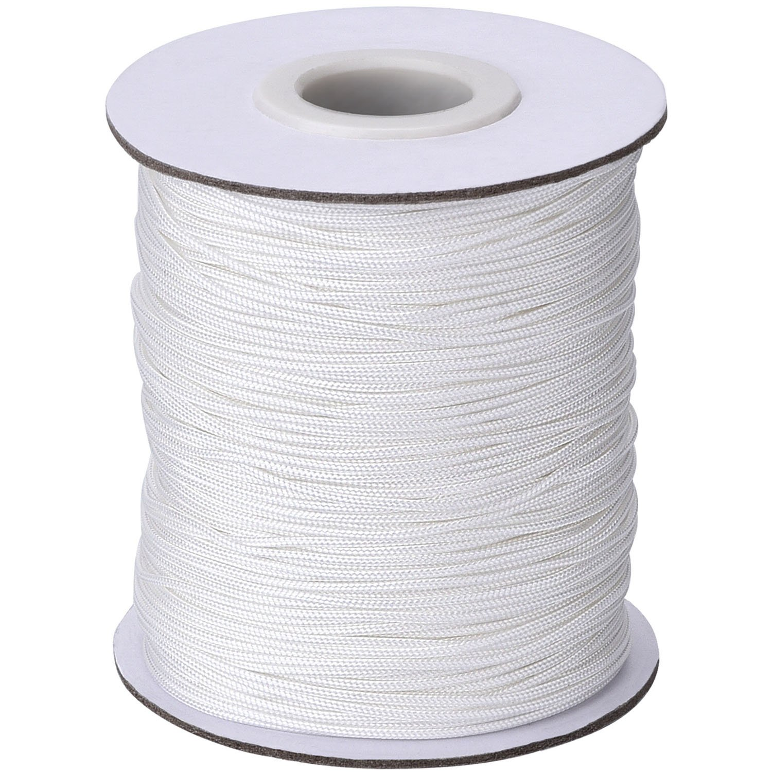 Outus 109 Yards/Roll White Braided Lift Shade Cord for Aluminum Blind Shade, Gardening Plant and Crafts (1.0 mm) 4337027909