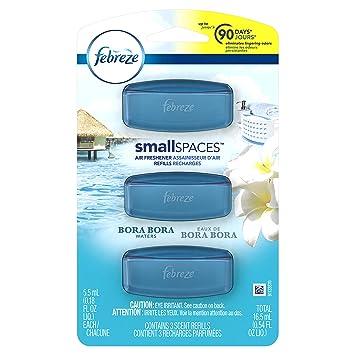 Amazon.com: Febreze Small Spaces Bora Bora Waters Air Freshener ...