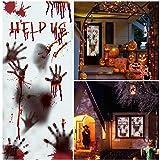 """Unomor 80×35.5"""" Large Halloween Window Door"""