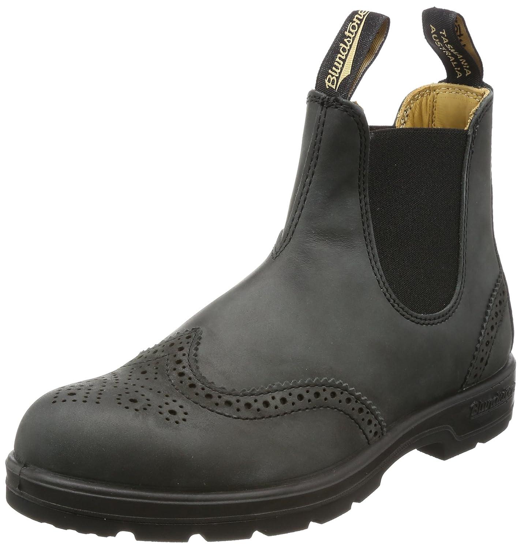 Blundstone Mens 1472 Leather Boots B0722HC9DT 4.5 M AU/5.5 M US|Rustic Black Brogue