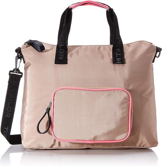 Tom Tailor Umhängetasche Damen Beige Genova 38x14x22 Cm Handtasche Schuhe Handtaschen