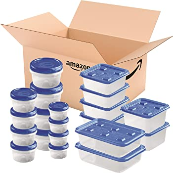 Ziploc Food Storage Meal Prep Containers 20-Count Variety Pack