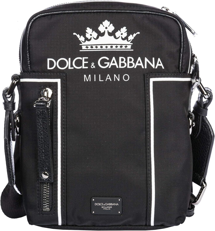 Dolce&Gabbana bolsos con bandolera hombre nero