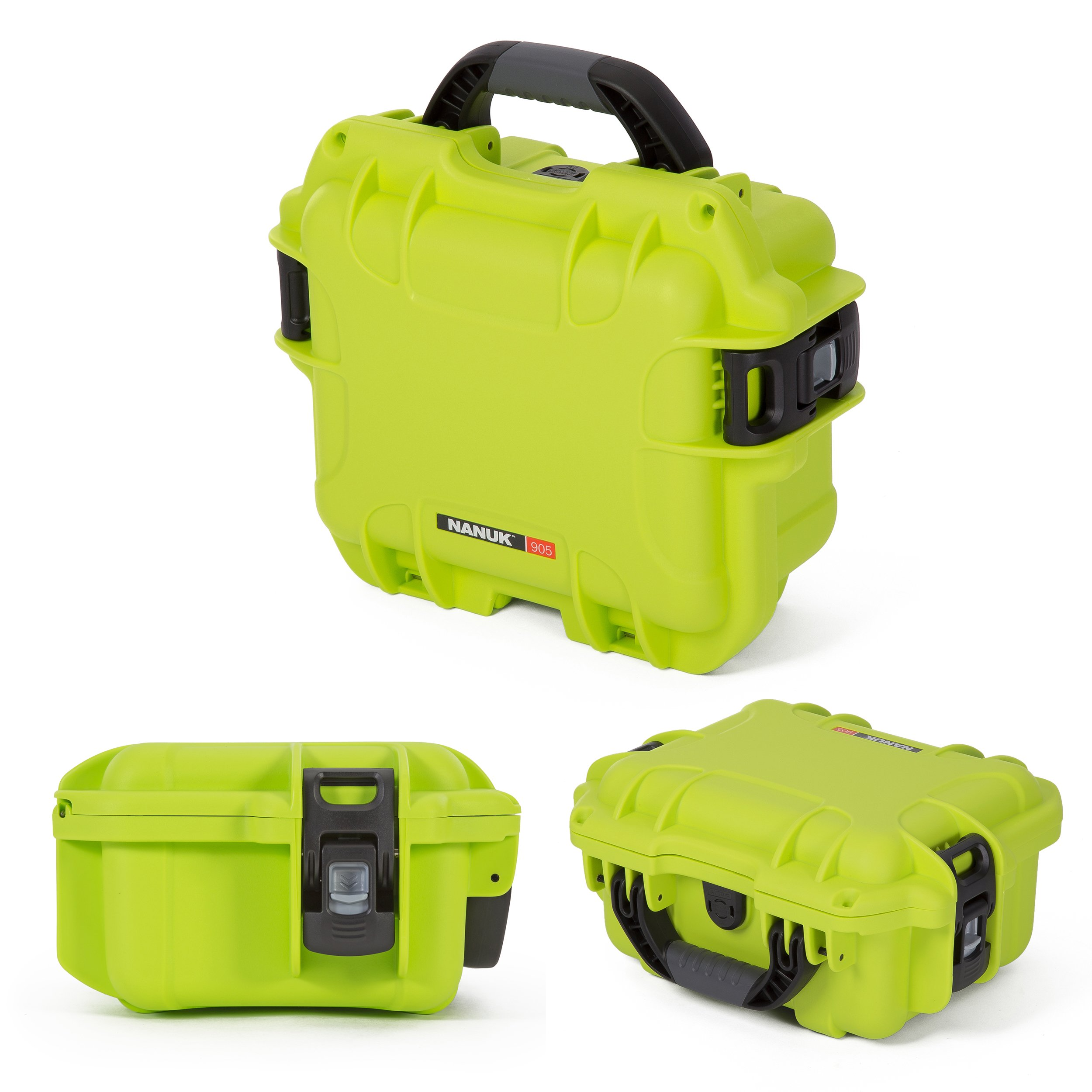 Nanuk 905 Waterproof Hard Case with Padded Dividers - Lime by Nanuk (Image #3)