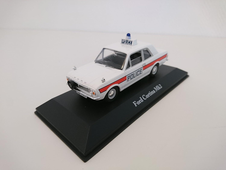 Ford Transit mk1 Police policía UK 1:43 atlas maqueta de coche