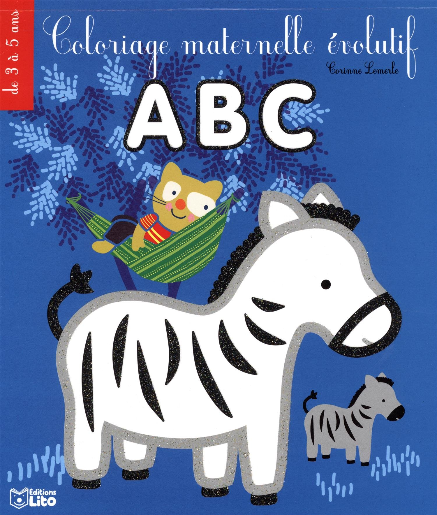 Coloriage Evolutif Maternelle Le Zebre De 3 A 5 Ans Amazon Fr