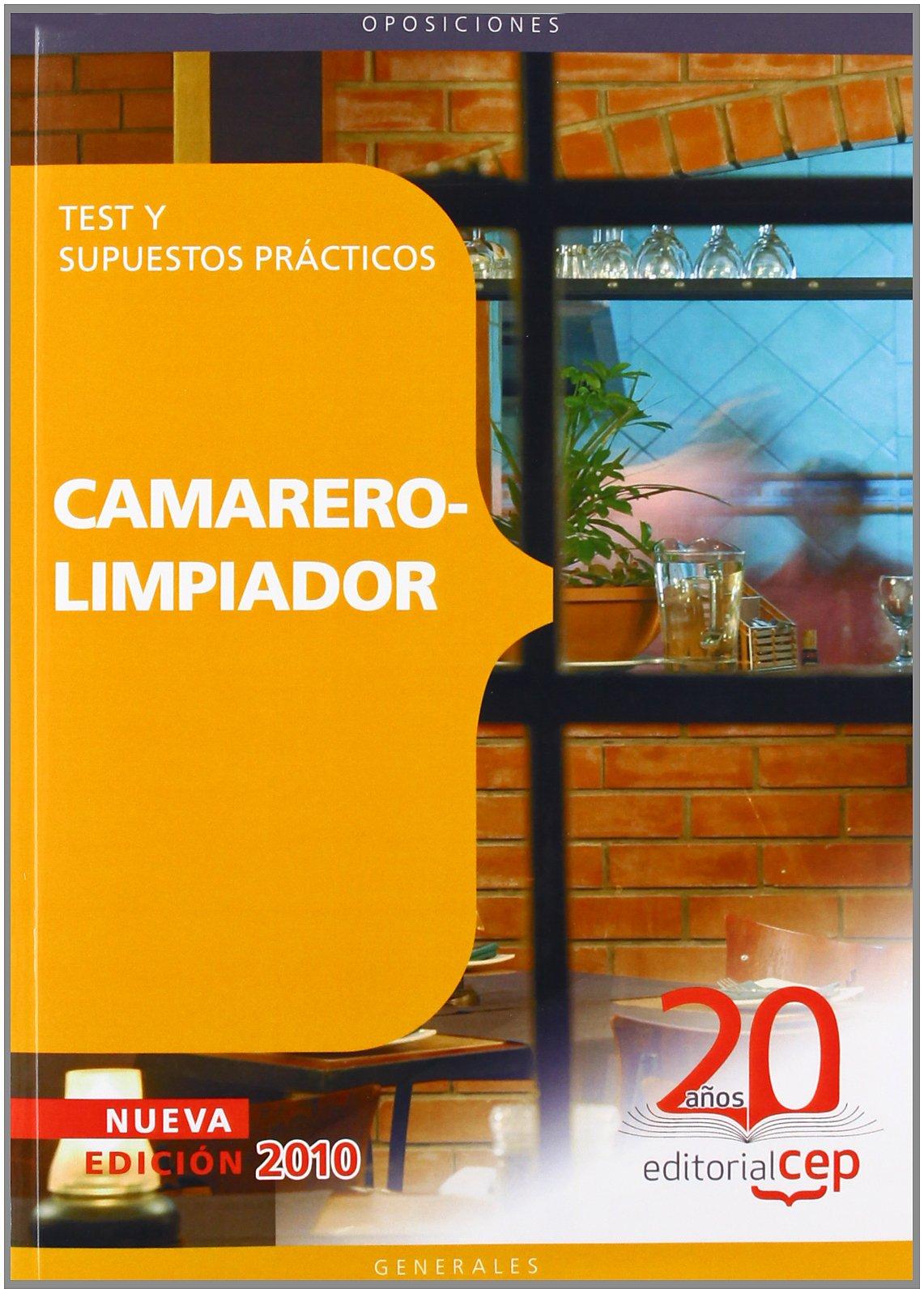 Camarer. Test y supuestos practicos camarero-limpiador (Colección 65)