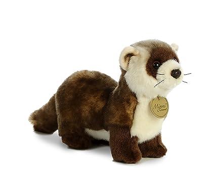 Amazon.com  Aurora World Miyoni Black Footed Ferret Plush  Toys   Games d6dfeb5ddf5