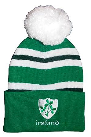 f39a7ab3e9e Ireland Rugby Bobble Hat  Amazon.co.uk  Sports   Outdoors