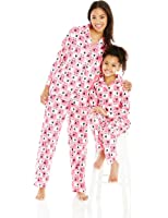Dollie & Me Girls' Mommy and Family Sheep Pajamas