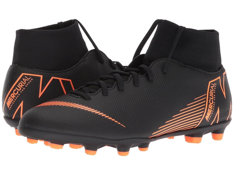 Nike Unisex-Erwachsene Superfly 6 Club Fg Mg Fußballschuhe schwarz schwarz schwarz Total Orange b1037b