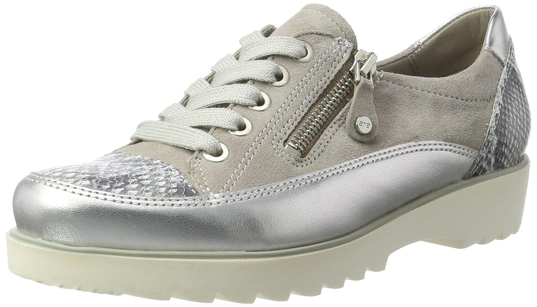 Ara Malmö, Zapatillas para Mujer 42 EU|Grau (Silber,grey/Chiara)
