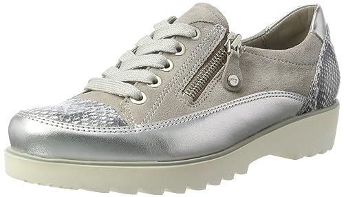 ARA Damen Malmö Sneaker, Grau (Silber,Grey Chiara), 38 EU 6f185137b2