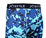 Xtextile Mens Camouflage Sports Compression Tight