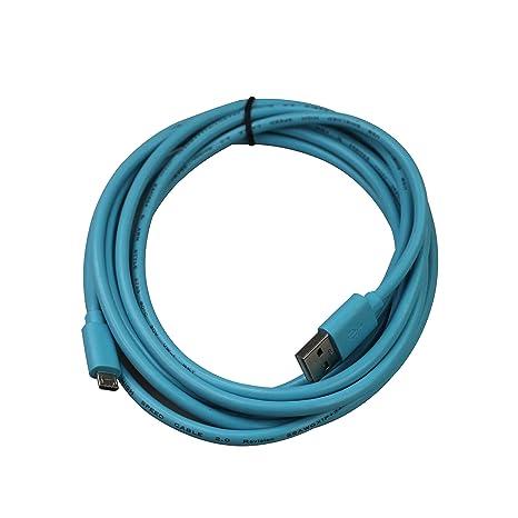 Amazon.com: teckology 10 ft/3 M Cargador Micro USB Cable ...