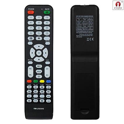 amazon com cezo universal led lcd tv remote works lg sony samsung rh amazon com Sharp TV Remote Control Codes Sharp Smart TV Remote Control