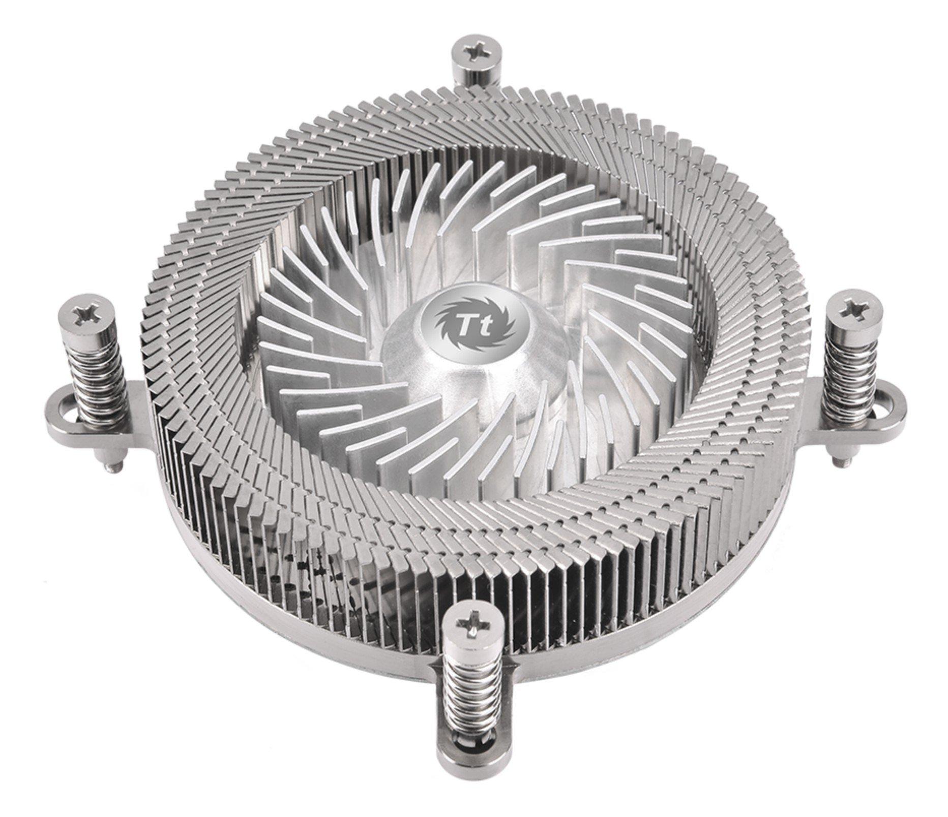 Thermaltake Engine 27 1U Low-Profile 70W Intel 60mm Low Noise PWM Fan Forty Fan Blade CPU Cooler CL-P032-CA06SL-A