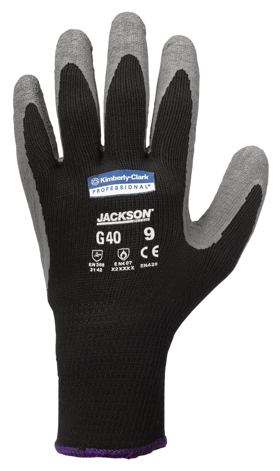 Jackson Safety G40 Latex Coated Glove, Large, Case of 60 by Jackson Safety (Image #1)