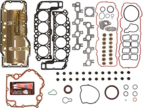 P Evergreen HSHB8-30471 Head Gasket Set Head Bolts Fit 04-07 Dodge Ram Jeep Grand Cherokee 4.7 VIN J N
