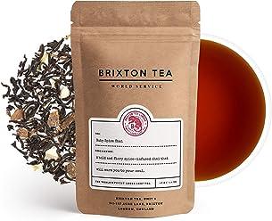 Brixton Tea ® Ruby Spice Chai Latte, Fresh, Indian Spiced, Loose Leaf Tea, 100g