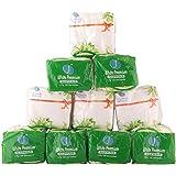 white premium Paper Tissue Napkins Square (Pack of 10)