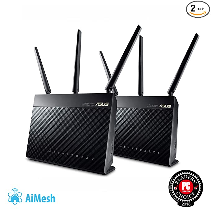 Router 2PK For Mesh Wifi System Up To 1900 Mbps
