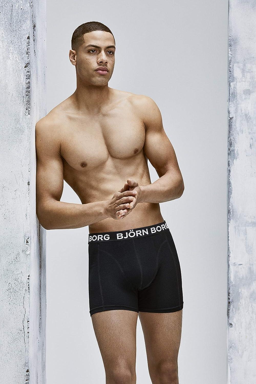Bj/örn Borg Performance Mens Boxer Shorts Lightweight Underwear for Men 1 Pc