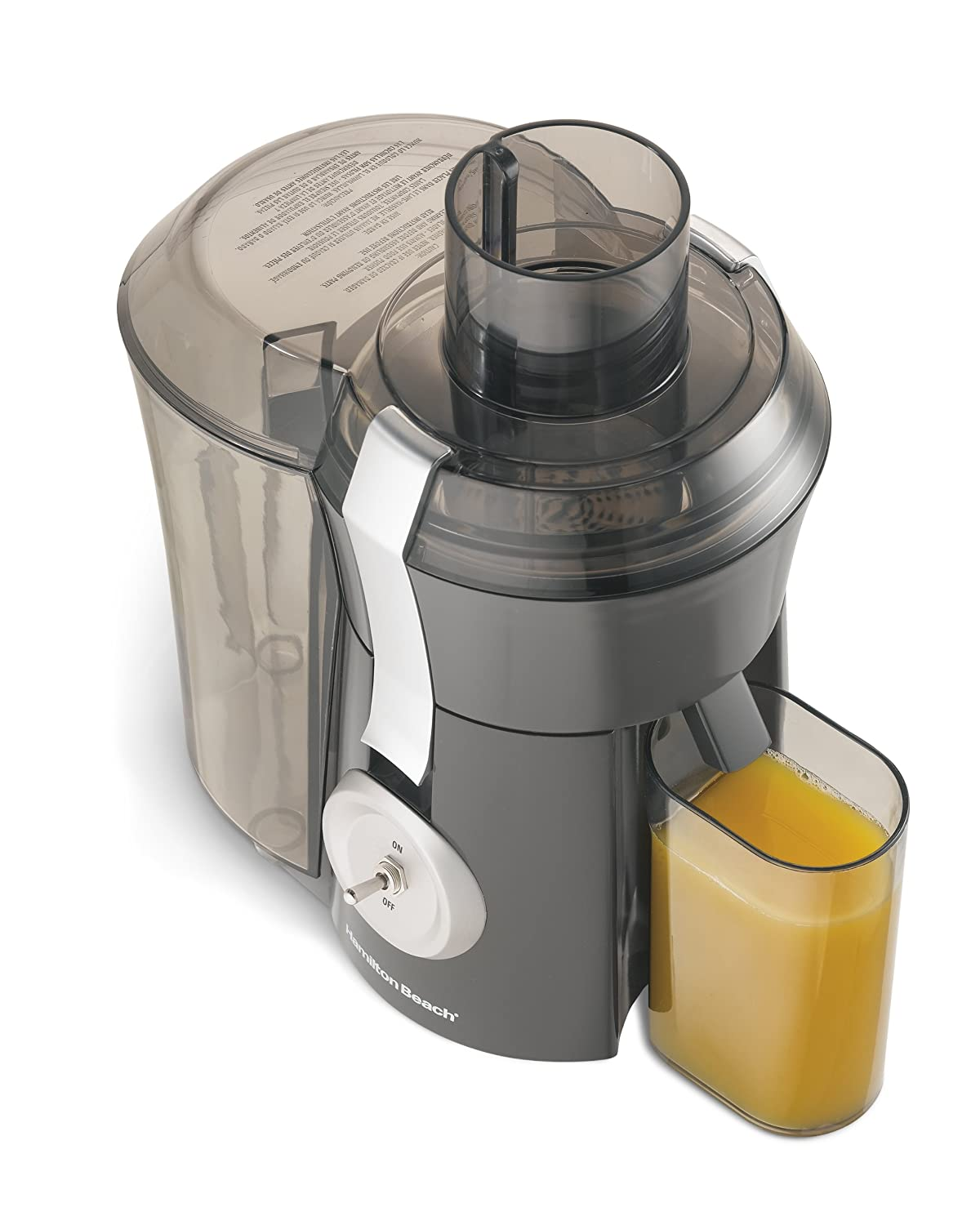 Hamilton Beach 67650A Juicer, Grey